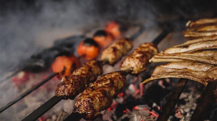 makanan yg dibakar daging bakar resiko kanker