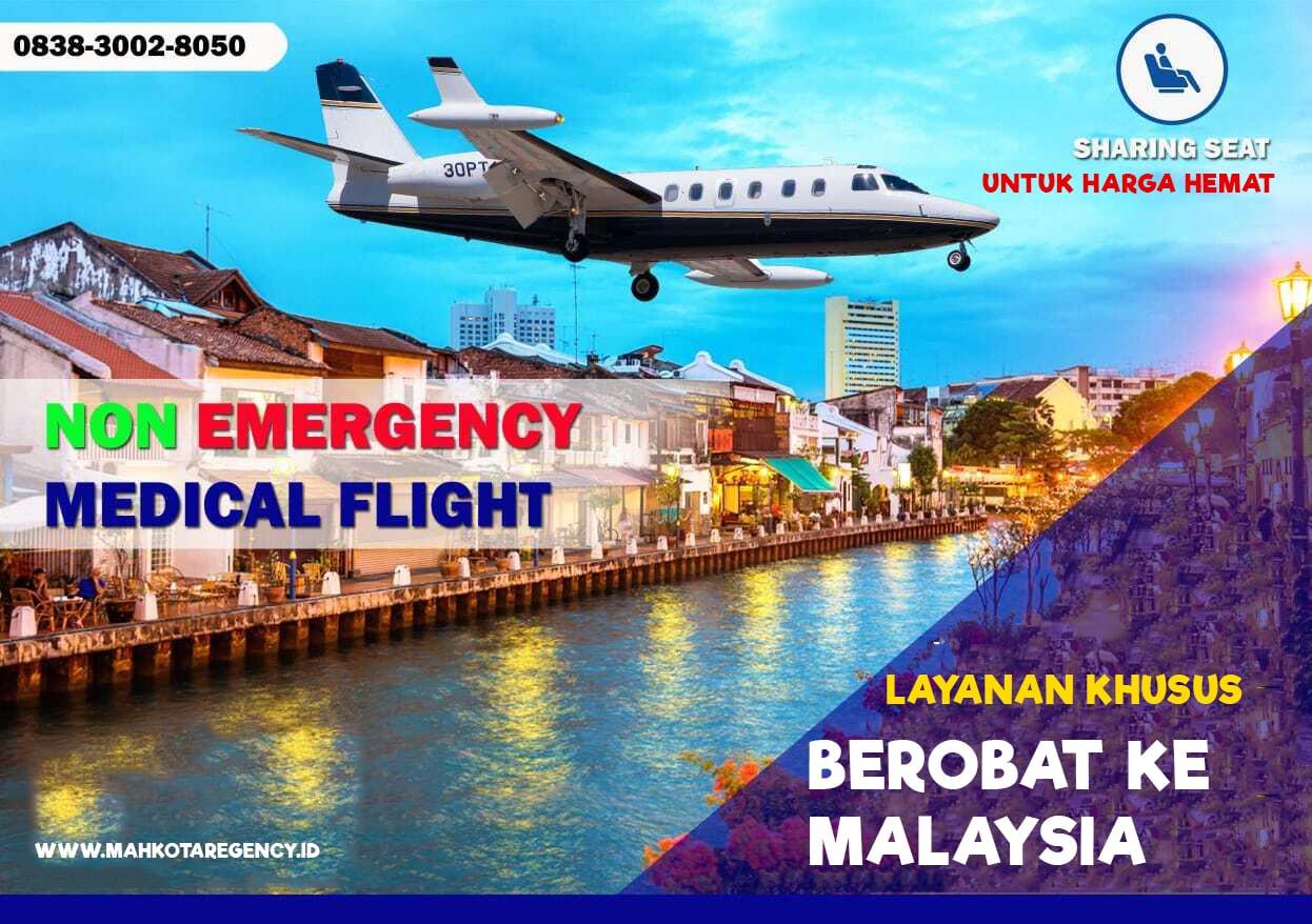 Read more about the article Layanan Khusus Berobat Ke Malaysia Via Jet Charter dan Air Ambulance