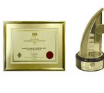 Excellence Export Certificate (Services) 2006 & Export Excellence Award (Services) 2007