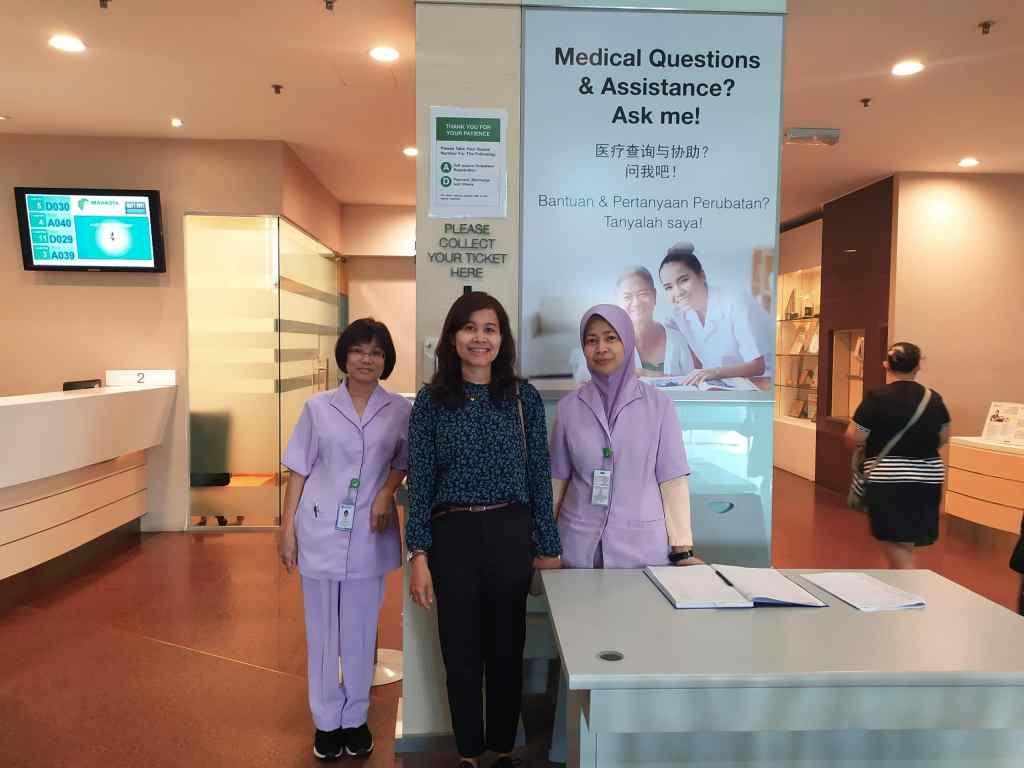Perwakilan Resmi Rumah Sakit Mahkota Medical Centre di Surabaya